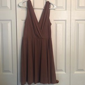 NWT BCBGeneration Mauve dress, size L